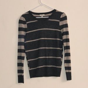 Lucky Brand long sleeve stripped sweater